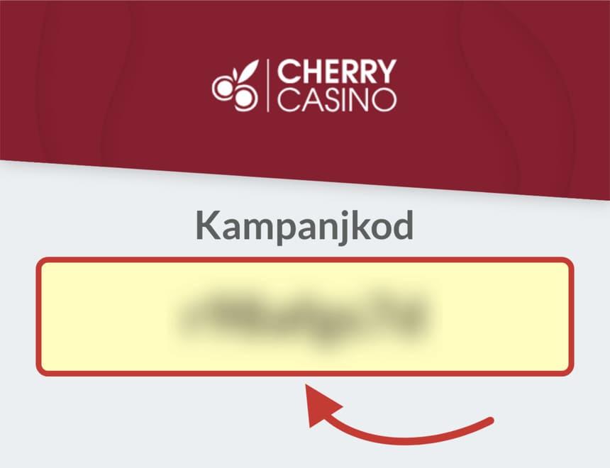 Cherry Casino kampanjkod